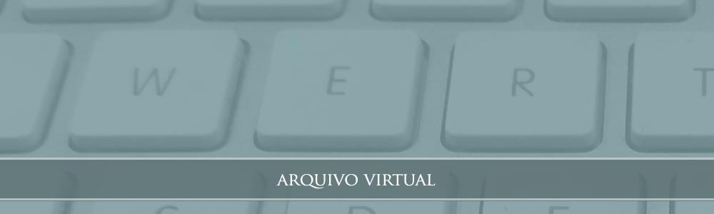 Banner rotativo Arquivo Virtual 2018