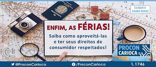 Procon carioca Férias