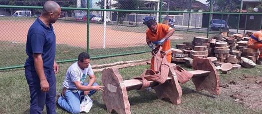 População da Grande Bangu recebe três praças revitalizadas pelo Rio Novo Olhar