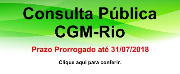 Consulta Pública CGM-Rio