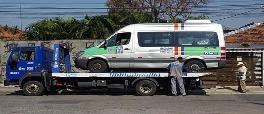 Equipes da SMTR lacram 77 veículos