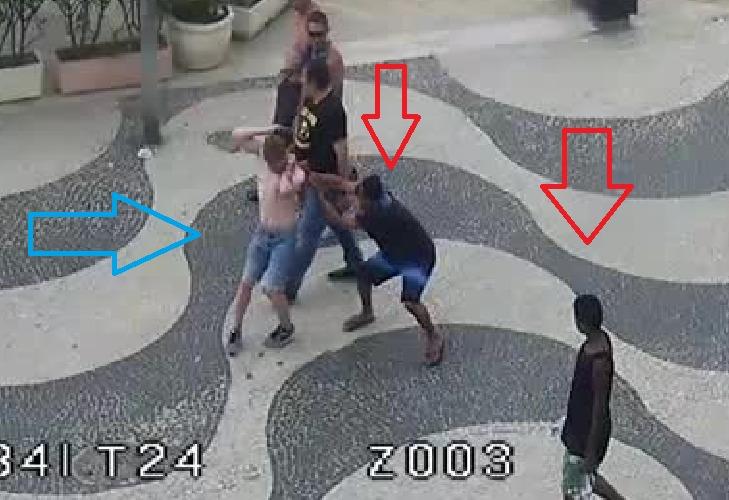 Flagrante de roubo pelas câmeras da Prefeitura leva à apreensão de adolescente pela Polícia Civil