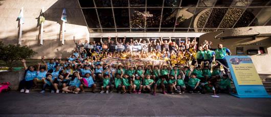"""Projeto """"Um Dia de Férias no Planetário"""" recebeu cerca de 5.000 crianças"""