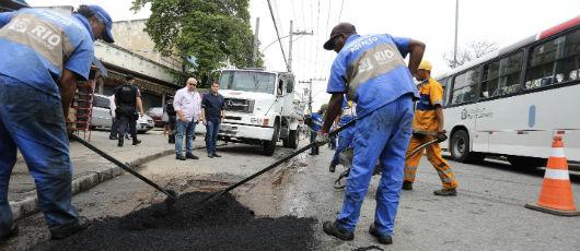 Prefeitura inicia mutirão do asfalto em mais de 200 ruas da cidade