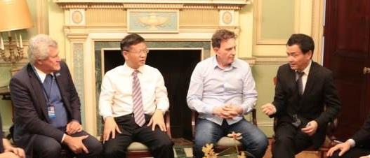 Prefeito Crivella recebe delegação chinesa de Qingzhou