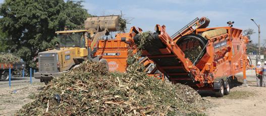 Comlurb apresenta equipamento para compostagem doado pela Alemanha
