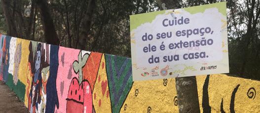 Rio Novo Olhar contabiliza em setembro 22 praças e áreas de lazer revitalizadas