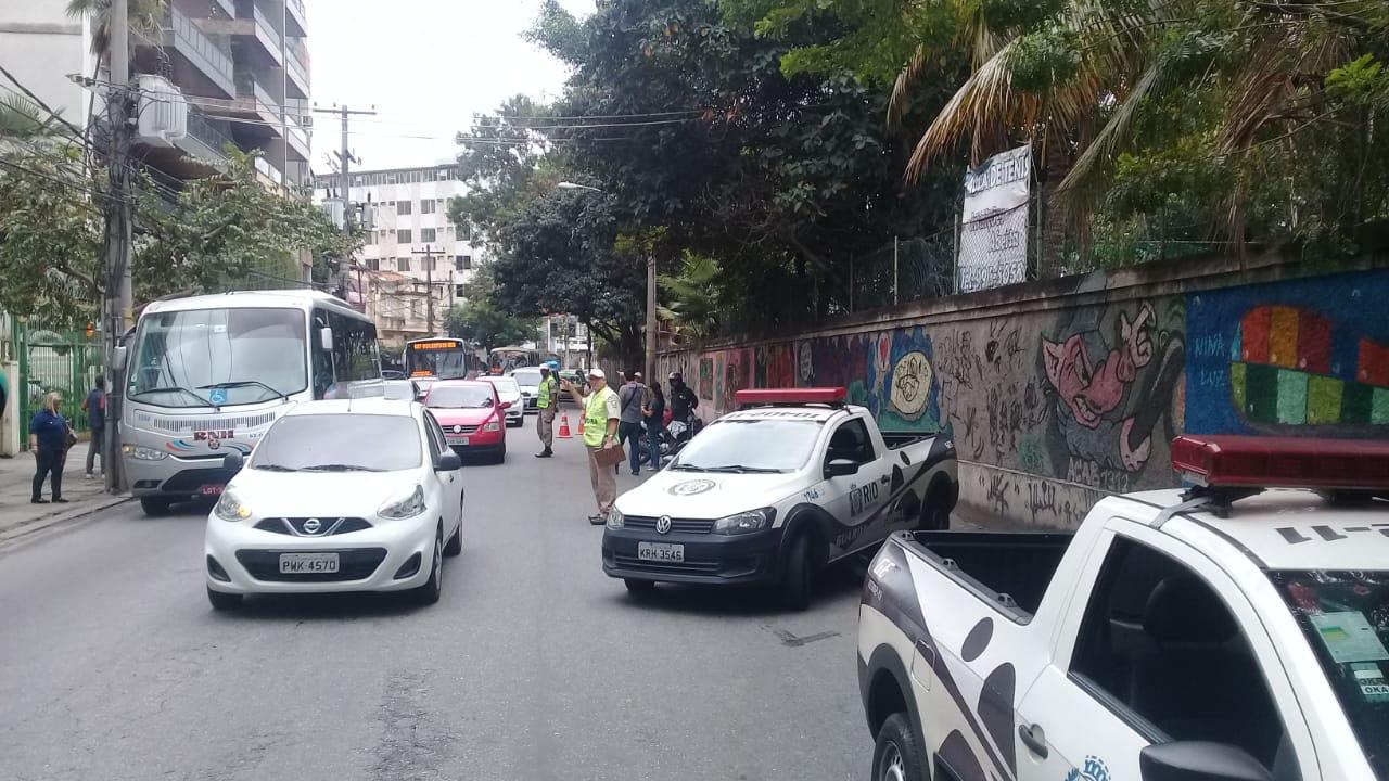 GM-Rio e 20ª DP realizam operação para coibir circulação de motos irregulares na Grande Tijuca