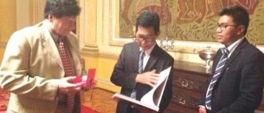 Embaixador de Myanmar visita a Cidade do Rio