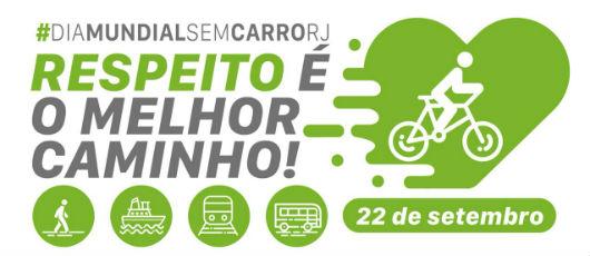 Cidade do Rio celebra Dia Mundial sem Carro com passeio ciclístico
