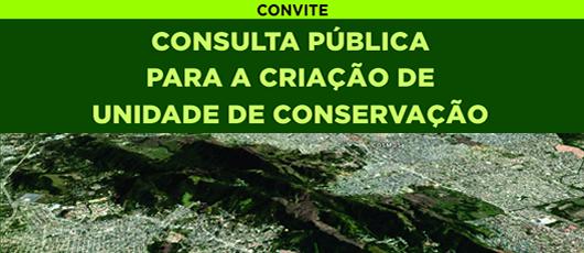 Consulta Pública Para a Criação de Unidade de Conservação