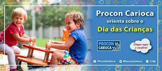 Dia das Crianças Procon Carioca