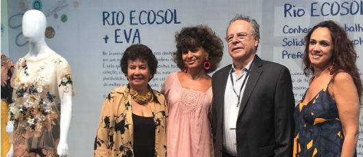Rio Ecosol brilha na 6ª edição do Veste Rio, com parceria inédita entre artesãs e grifes famosas