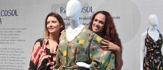 'Rio Ecosol mudou a minha vida', diz artesã no Veste Rio