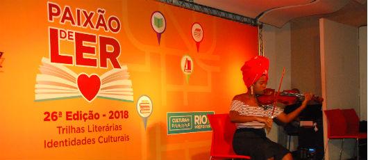 Atrações culturais grátis, em nome da Paixão de Ler