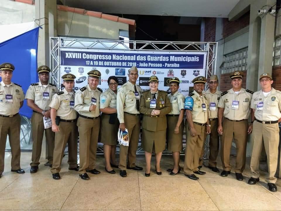 GM-Rio participa de Congresso Nacional das Guardas Municipais na Paraíba