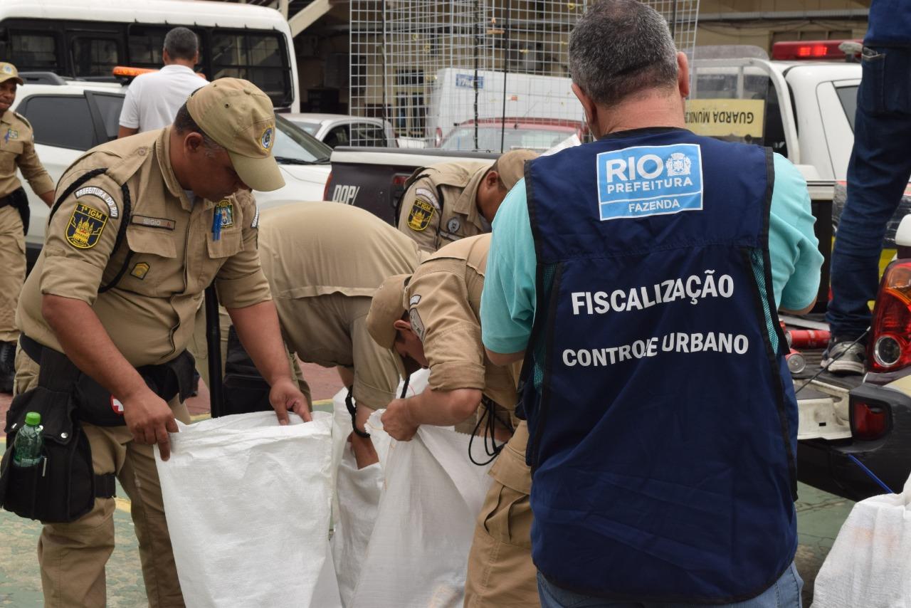 GM-Rio e Fazenda realizam ação conjunta de ordenamento urbano no entorno da Rodoviária
