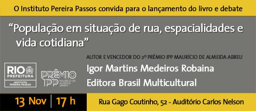 Tese premiada sobre população em situação de rua vira livro e lançamento será no IPP