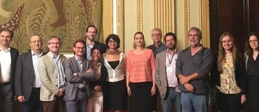 Delegação de Milão apresenta o projeto Polimipararocinha