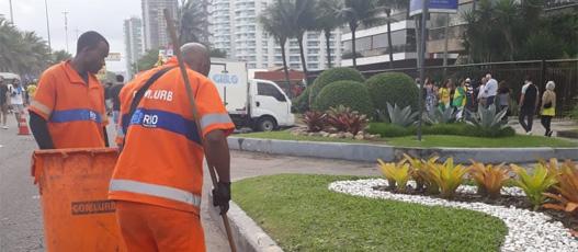 Comlurb recolhe 108 toneladas de resíduos durante segundo turno das eleições
