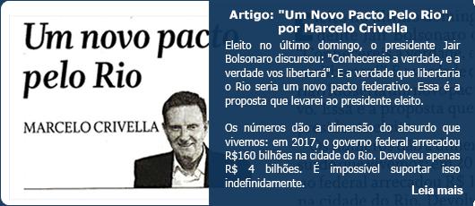 Um Novo Pacto Pelo Rio, por Marcelo Crivella
