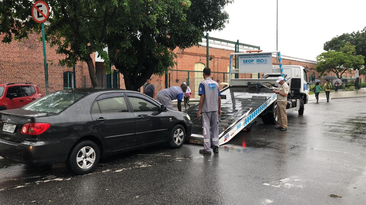 Pelo quarto dia, Bangu recebe ação de ordenamento urbano da Prefeitura do Rio