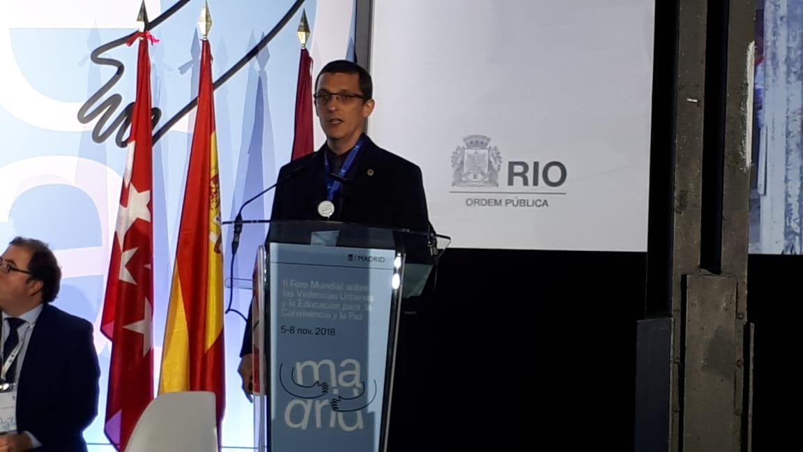 Rio+Seguro: Seop apresenta resultados de programa em fórum internacional na Espanha