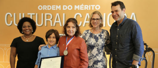 Prefeitura entrega Ordem do Mérito Cultural Carioca