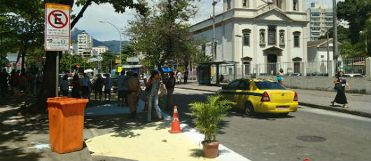 Prefeitura lançou na Tijuca o Rio + Pedestre para incentivar circulação a pé