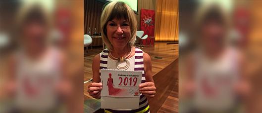 Jude Kelly incentiva Senhoras do Calendário 2019
