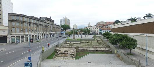 Sítio arqueológico do Cais do Valongo vai passar por obra