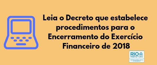 Banner exercício financeiro