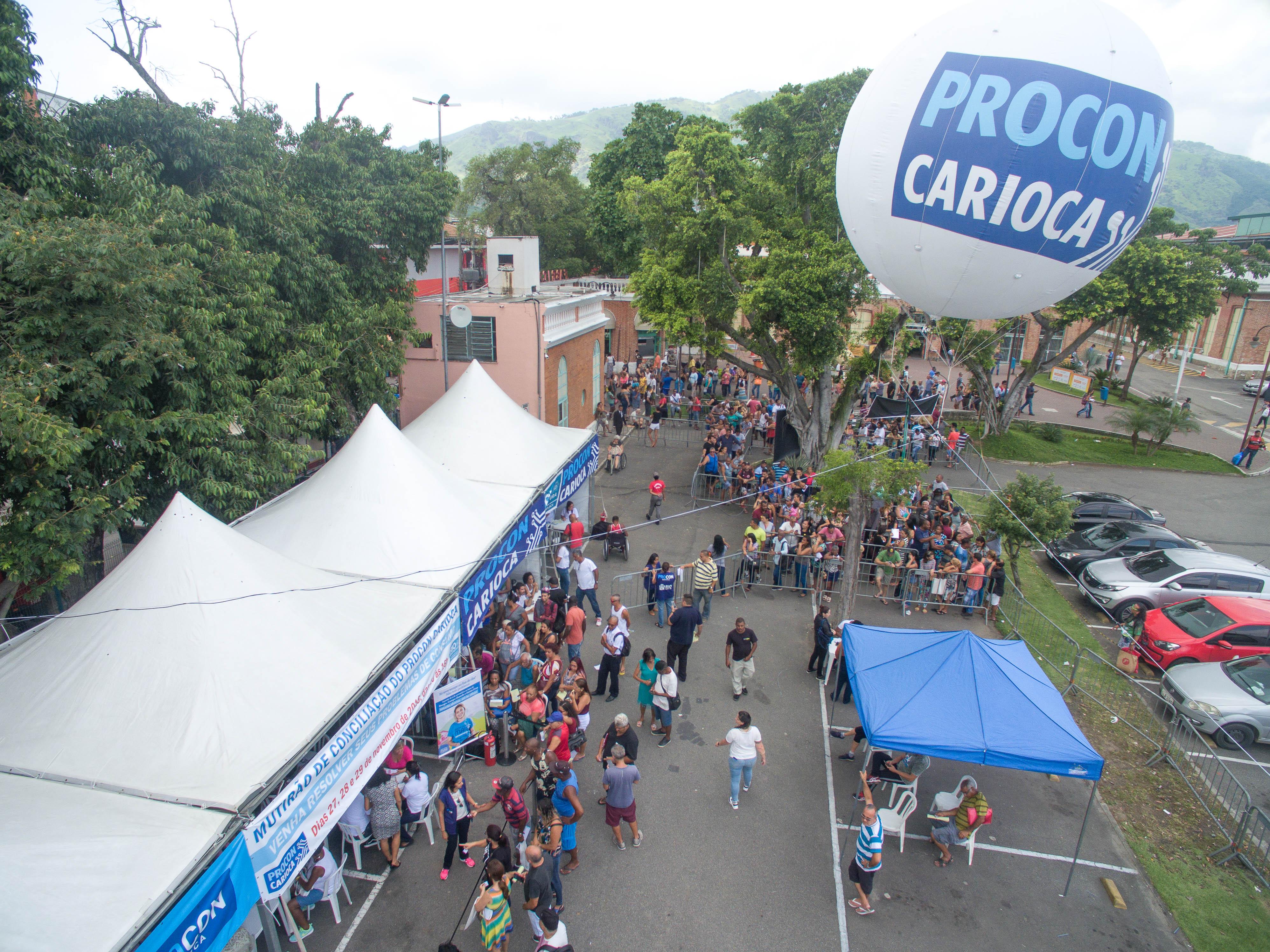 Mutirão do Procon Carioca termina  com mais de 2.700 atendimentos