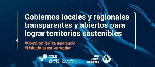 CGLU promove campanha pelo Dia Internacional contra ele Corrupção