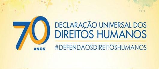 Série de eventos celebra 70 anos da Declaração dos Direitos Humanos