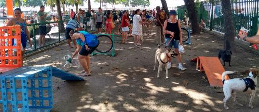 Prefeitura inaugura parque de 690 m² para Cachorros