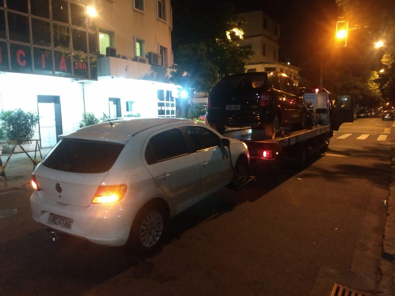 Réveillon 2019: Ação de ordem pública remove 373 veículos por estacionamento irregular
