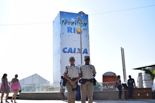 Réveillon 2019: Guarda Municipal detém 13 pessoas em Copacabana
