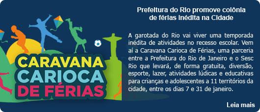 Prefeitura do Rio promove colônia de férias inédita na Cidade