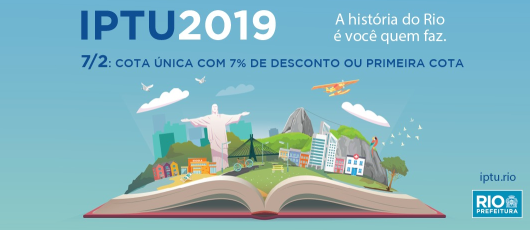 Banner IPTU 2019