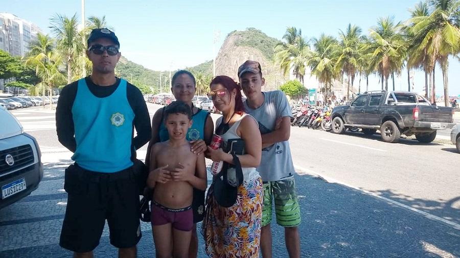 GM-Rio encontra 37 crianças perdidas nas praias das Zonas Sul e Oeste da cidade no fim de semana