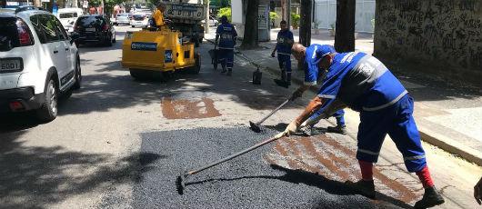 Grande Tijuca recebe Mutirão do Asfalto em 40 ruas