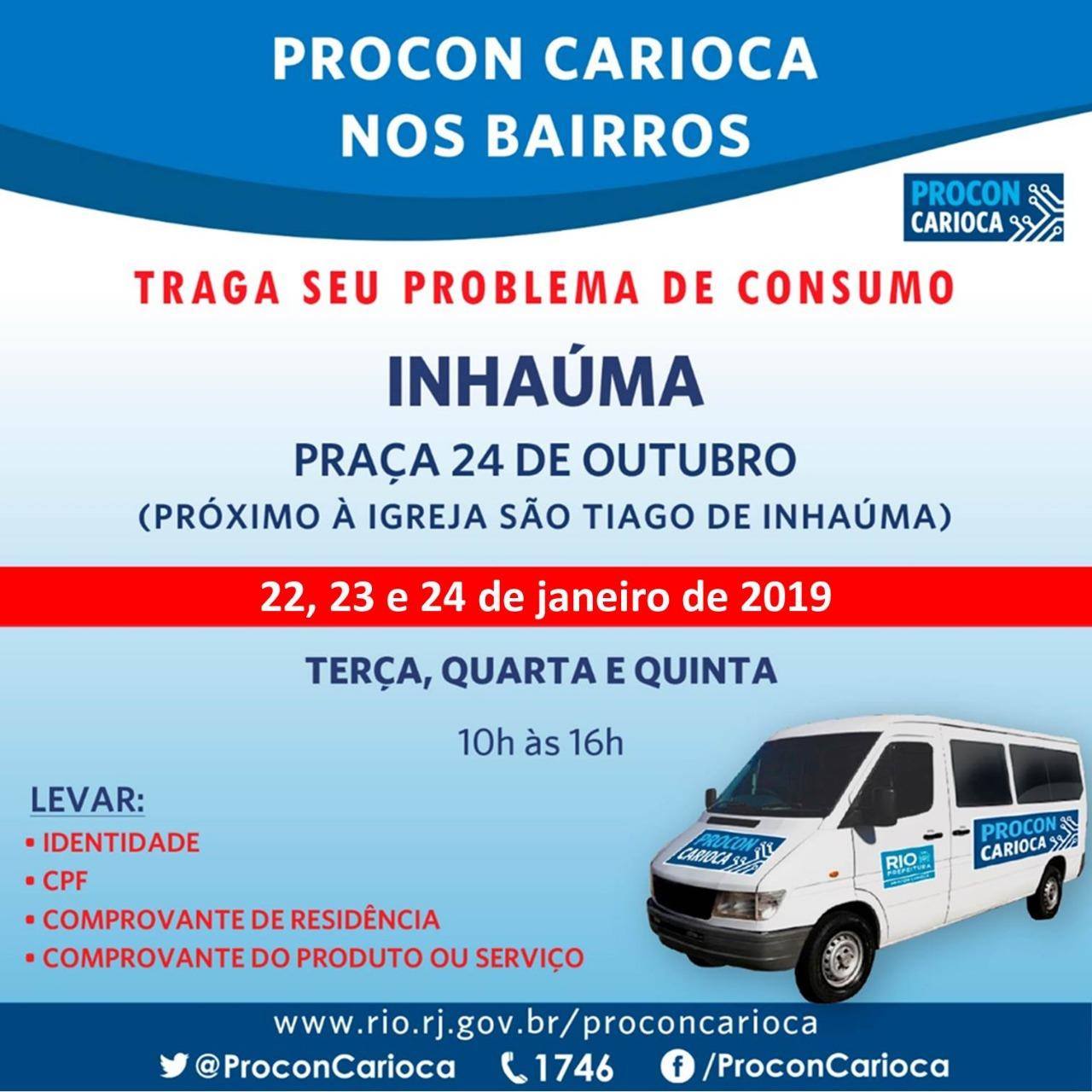 Inhaúma recebe Procon Carioca