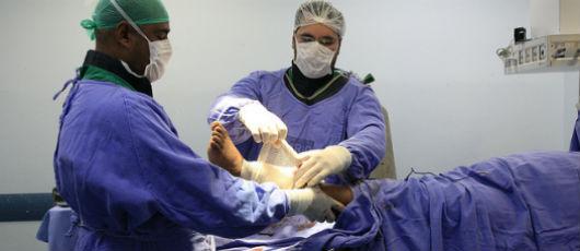 Mutirão de cirurgias ortopédicas supera meta em quase 40%