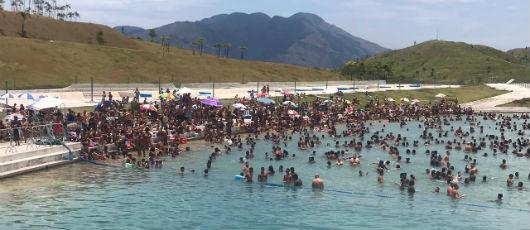 Parque Radical de Deodoro bate novo recorde no verão