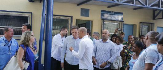 Crivella entrega à Tijuca reforma de Centro Municipal de Saúde