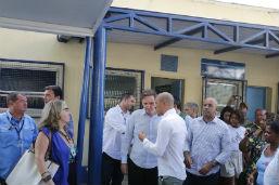 Crivella entrega reforma de Centro de Saúde do Borel, na Tijuca