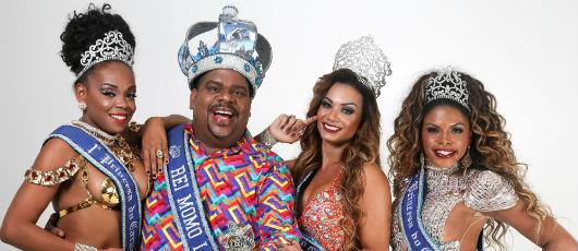 Concurso elege Rei Momo e Rainha do Carnaval Rio 2019 na sexta-feira