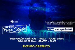 Domingo, 27, tem Rio FreeStyle na Lapa, maior festival de rap do Rio