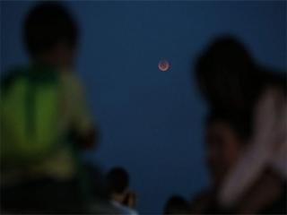Planetário realiza noite de observação de eclipse